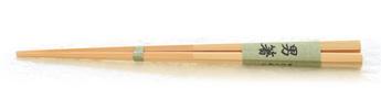 持ち手の部分が太い竹箸。男箸
