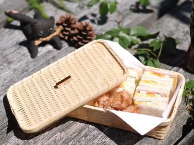 サンドかご、秋の行楽特集