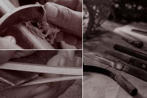 職人の技ー花篭乱れ編み2